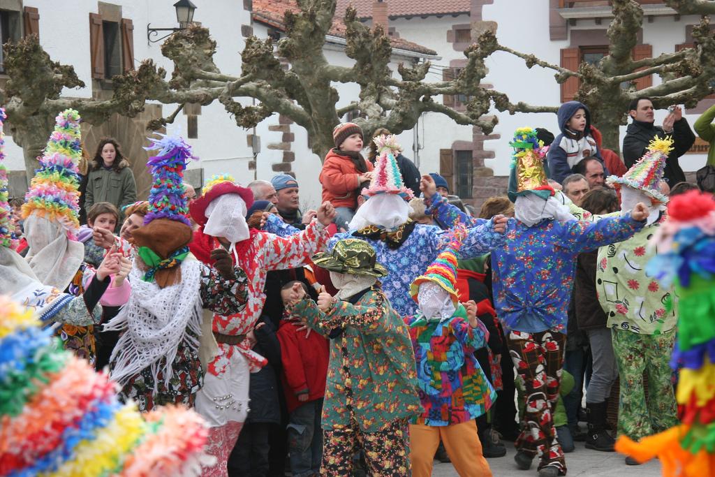 Carnaval de Lantz, Navarra